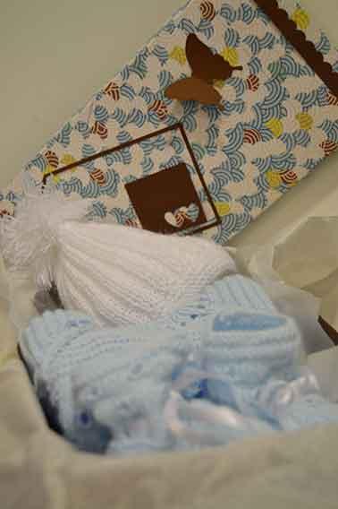 Cajita regalo personalizada bebe
